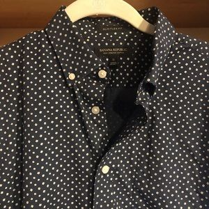 BR Patterned Button Down